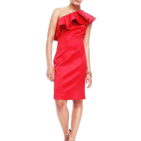 Red Fleur Dress
