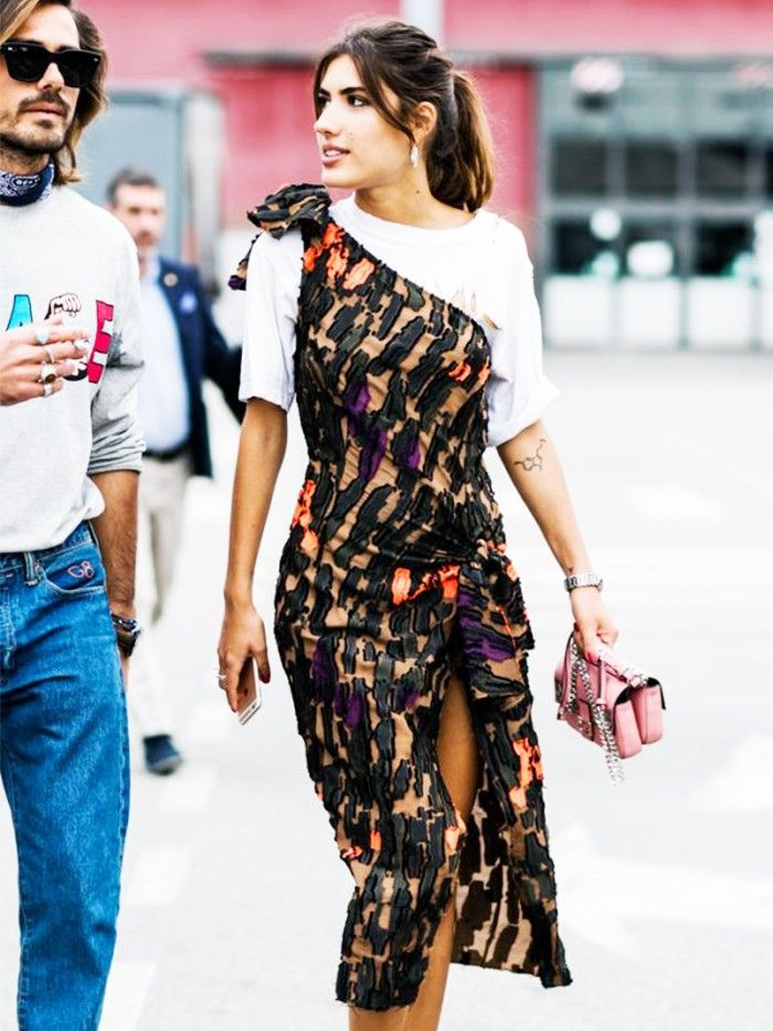 how to do the 1980s trend from shoulder pads to clipon