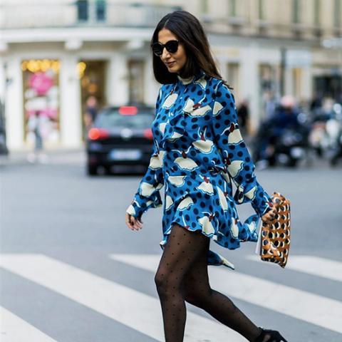 1980s fashion trends: 10 denier tights