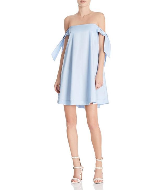 Bloomingdale's Mackenzie Off-the-Shoulder Dress