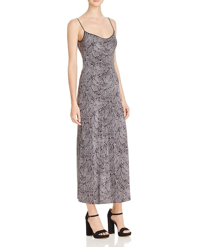 Kate Moss for Equipment Jessa Maxi Silk Slip Dress
