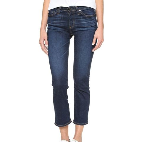 Jodi Flared Crop Jeans