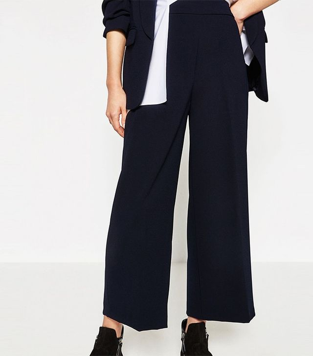 Zara High-Waist Trousers