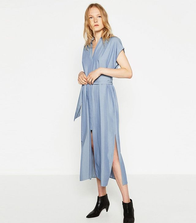 Zara Long Tunic With Slits
