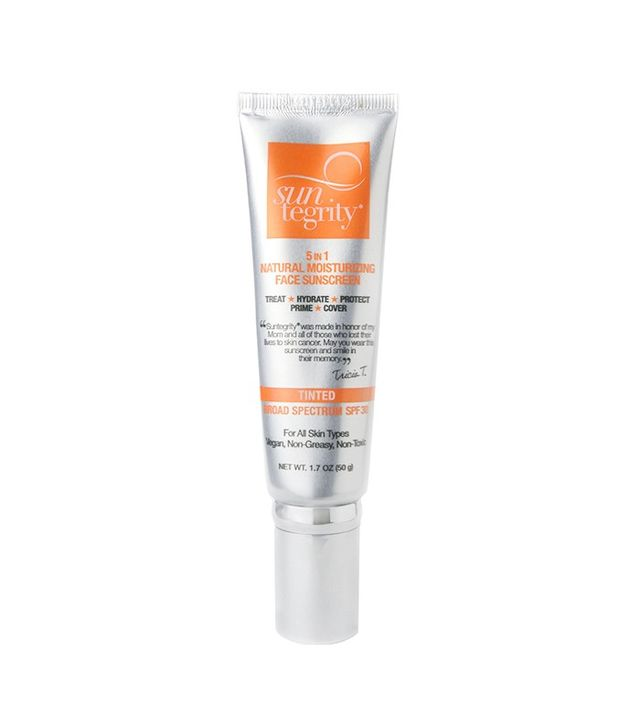 Suntegrity 5-in-1 Natural Moisturizing Face Sunscreen Tinted Broad Spectrum SPF 30