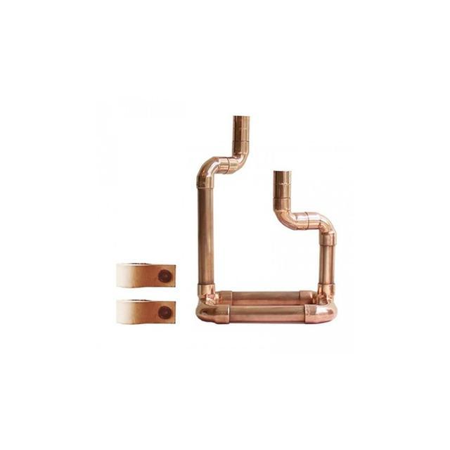 Zicarda Copper Candelabra