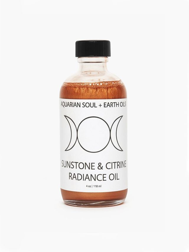 Aquarian Soul + Earth Oils Sunstone & Citrine Radiance Oil