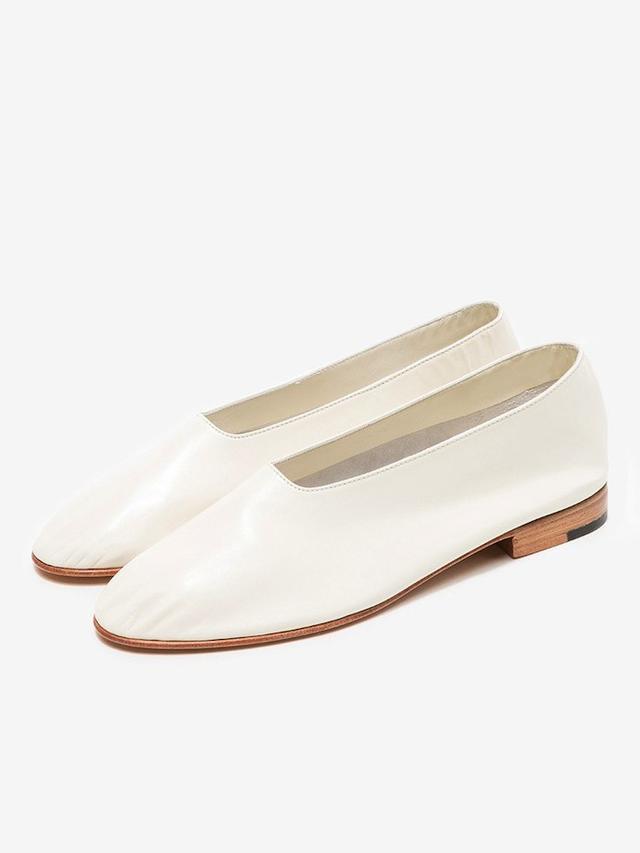 Martiniano Glove Shoe in Panna