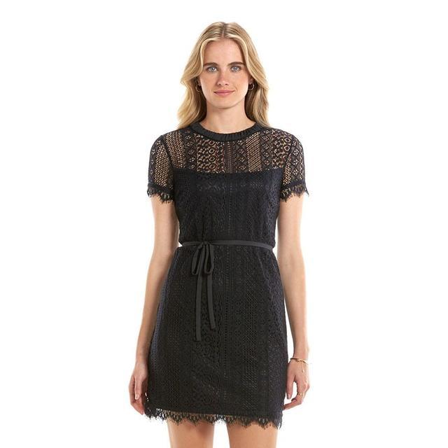 LC Lauren Conrad Lace Shift Dress
