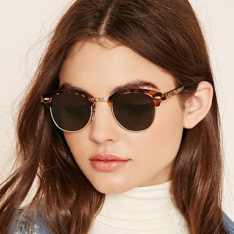 Classic Brow Line Sunglasses