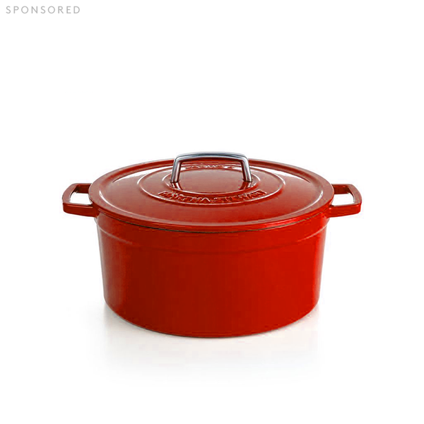 Martha Stewart Collection Collector's Enameled Cast Iron 6 Qt. Oval Casserole