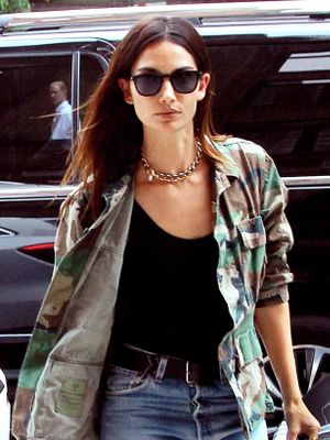 Prediction: This Lily Aldridge-Approved Trend Is About to Blow Up