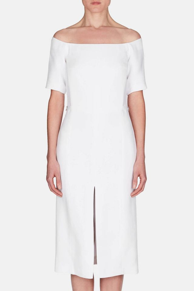 Gabriela Hearst Adriana Dress in Ivory