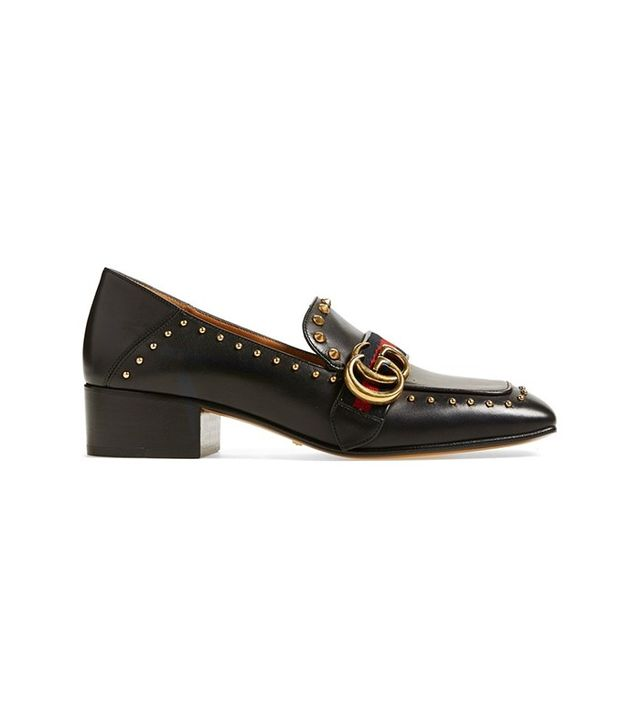 Gucci Peyton Loafer Pump