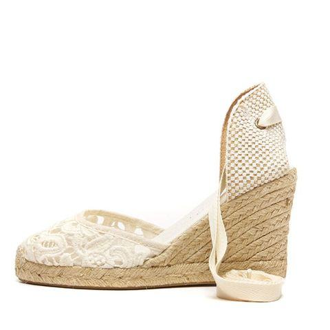 Tulip Lace Tall Wedge