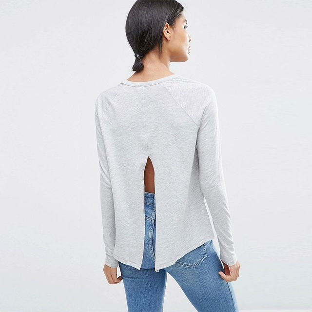 ASOS Swing Top With Back Slash