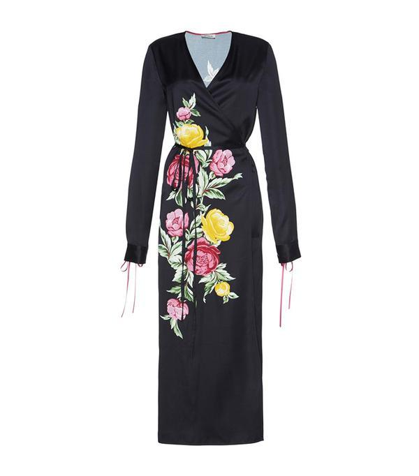 Grace Floral Wrap Dress