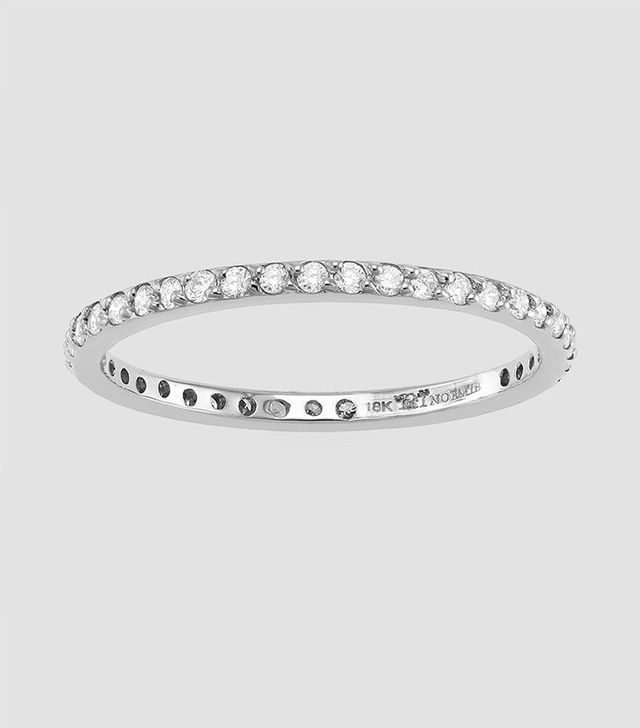 Noémie Diamond Eternity Band Ring