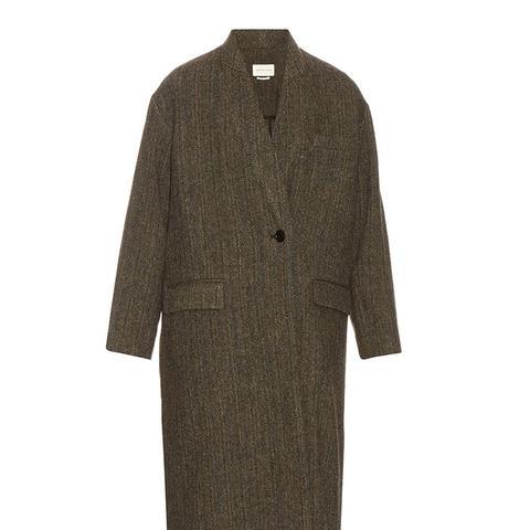 Henley Virgin-Wool Coat