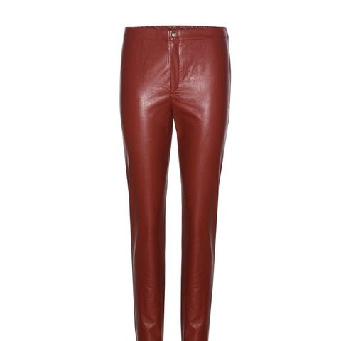 Jeffrey Faux Leather Trousers