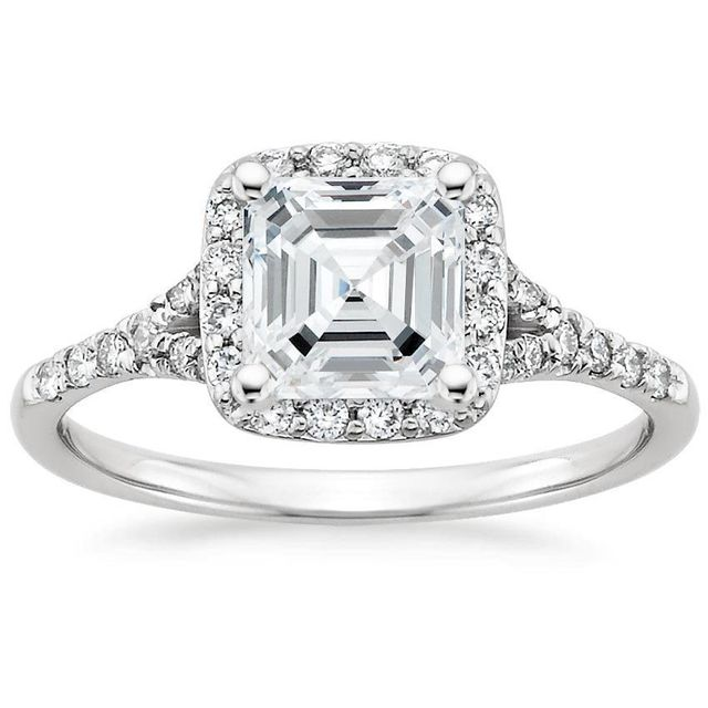 Brilliant Earth 0.75-Carat Asscher Harmony Ring