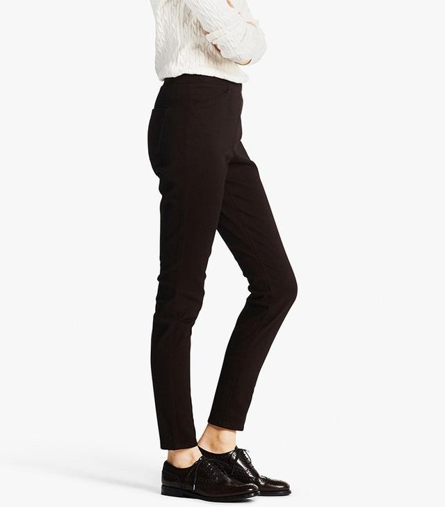 Uniqlo Heattech High Rise Leggings Pants
