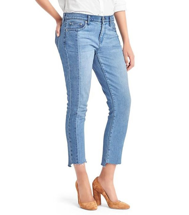 Gap Authentic 1969 Two-Tone Best Girlfriend Jeans