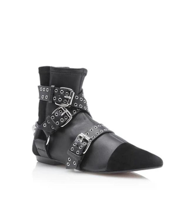 Isabel Marant Eyelet Rolling Boots