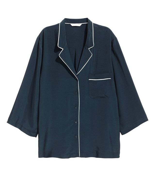 H&M Blouse With Chest Pocket