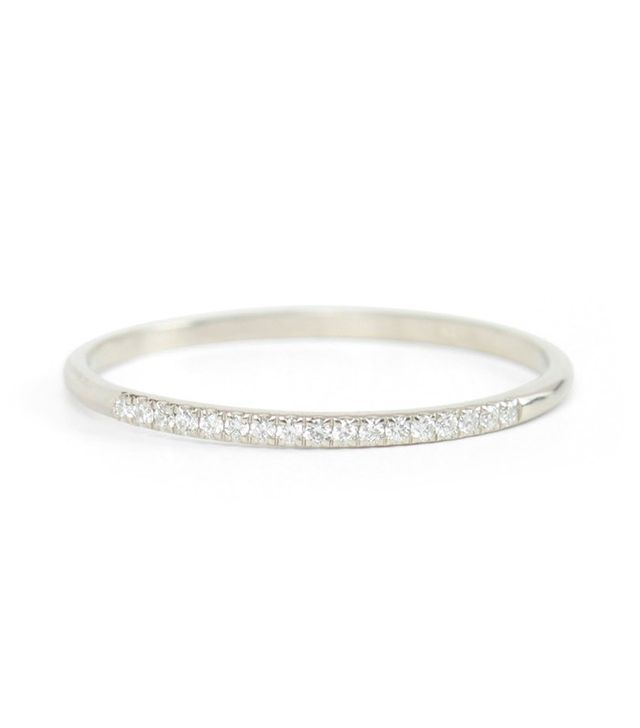 Catbird Fairy Light Eternity Band