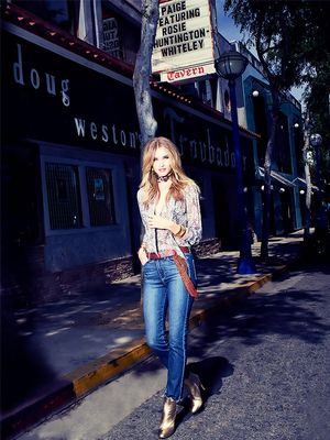 Rosie Huntington-Whiteley on the Denim Trend She Didn't Expect to Love