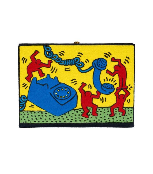 Olympia Le-Tan x Keith Haring 2 Painting-Clutch