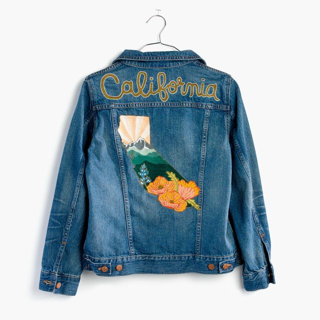 Madewell x Ft. Lonesome Custom Jean Jacket