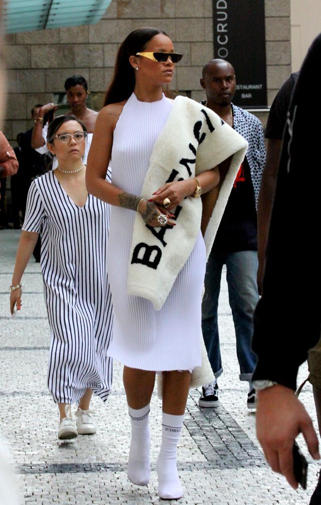 Rihanna in Prague, July 27 2016