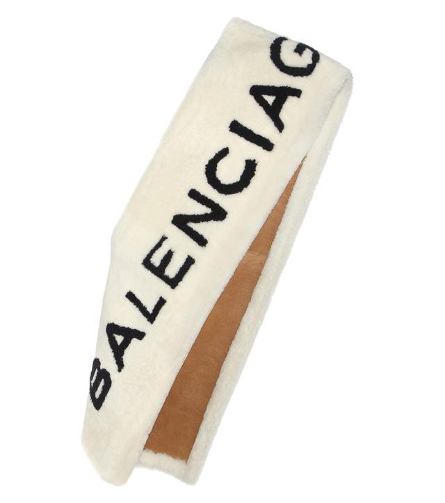 Balenciaga Lamb Fur Stole
