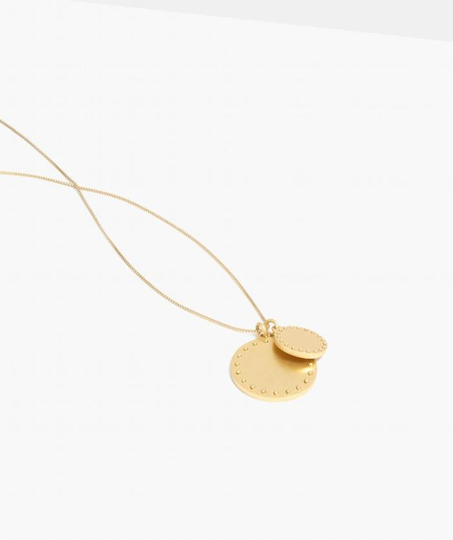 Madewell Coinmix Pendant Necklace