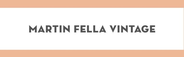 True vintage lovers know about Martin Fella Vintage. You'll find truly original pieces, including designer accessories, men's and women's apparel, and homewares.