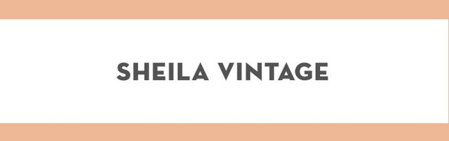 At Sheila Vintage, you'll find clothes, shoes and accessories from the '50s, through to the '90s.