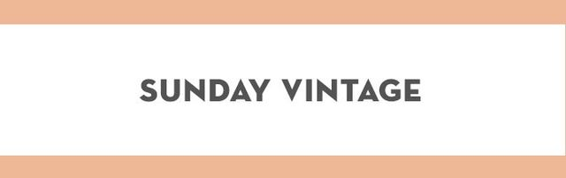 You know how we're in the middle of a '90s fashion resurgence? Sunday Vintage has all the best and original pieces.