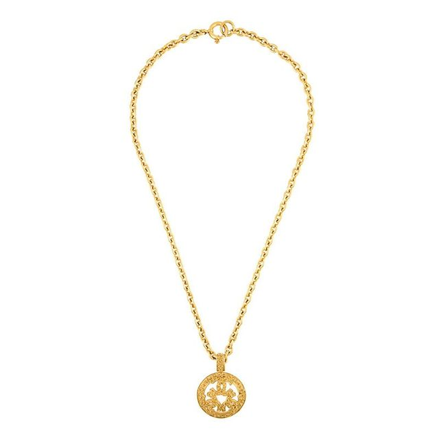 Chanel Vintage CCC Necklace