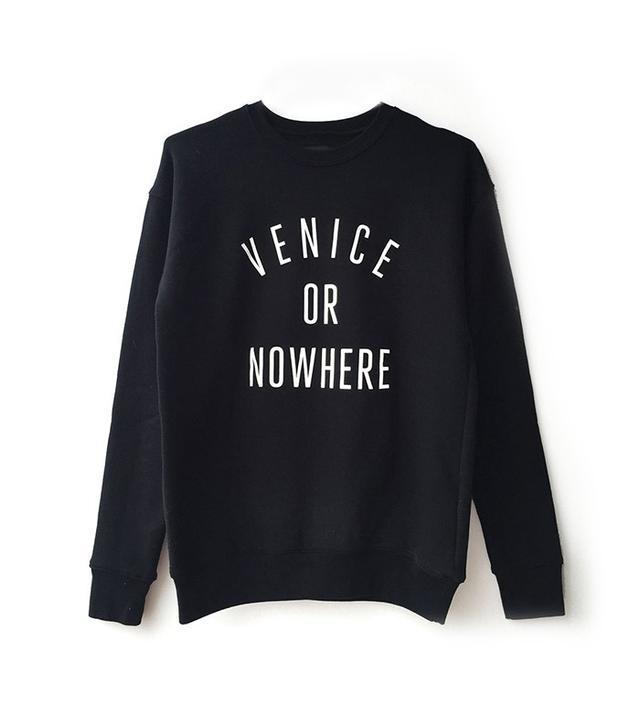 Knowlita Venice or Nowhere Sweatshirt