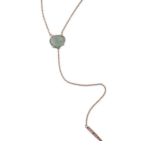 Green Tourmaline Icy Picky Necklace