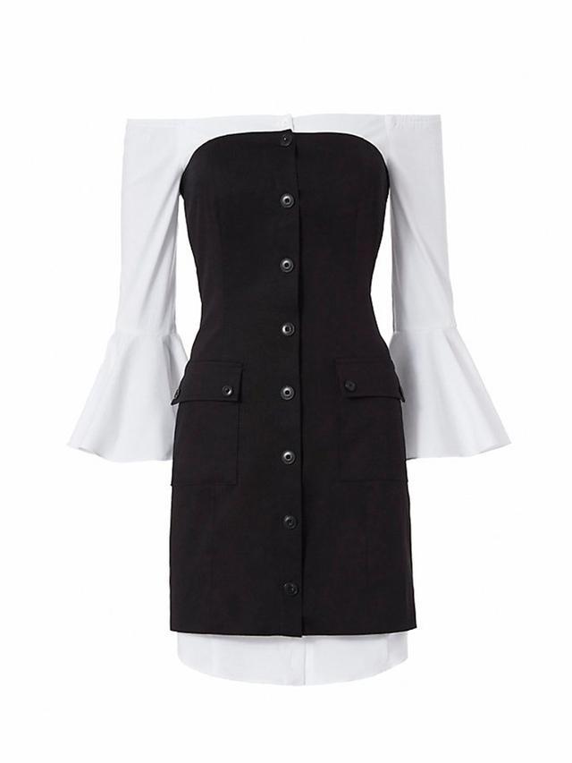 Exclusive for Intermix Sinclair Poplin Underlay Dress