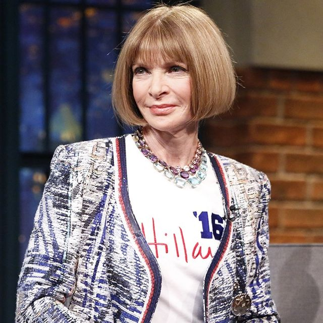 What Hillary Clinton Asked Anna Wintour for Help With