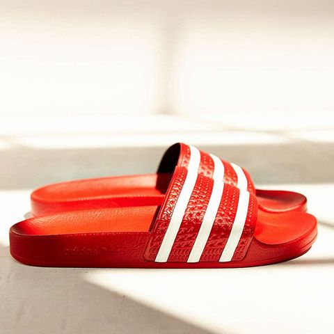 Original Scarlet Adilette Pool Slides