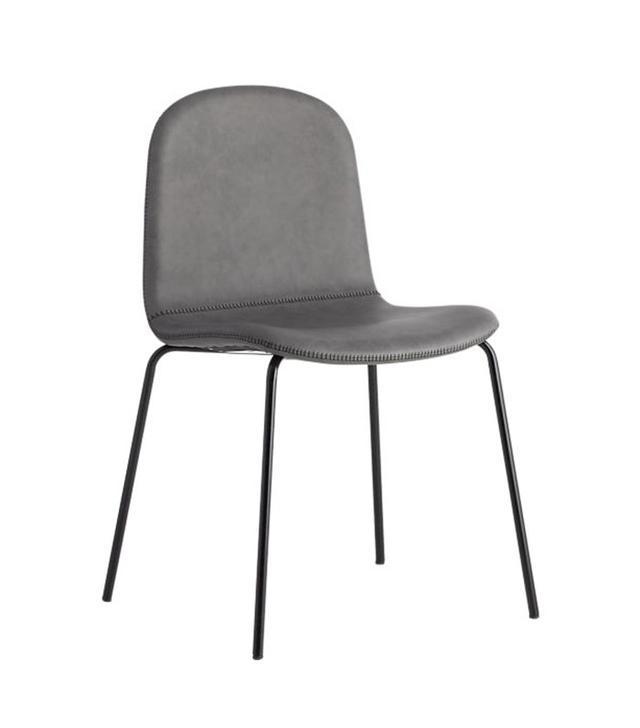 CB2 Primitivo Grey Chair