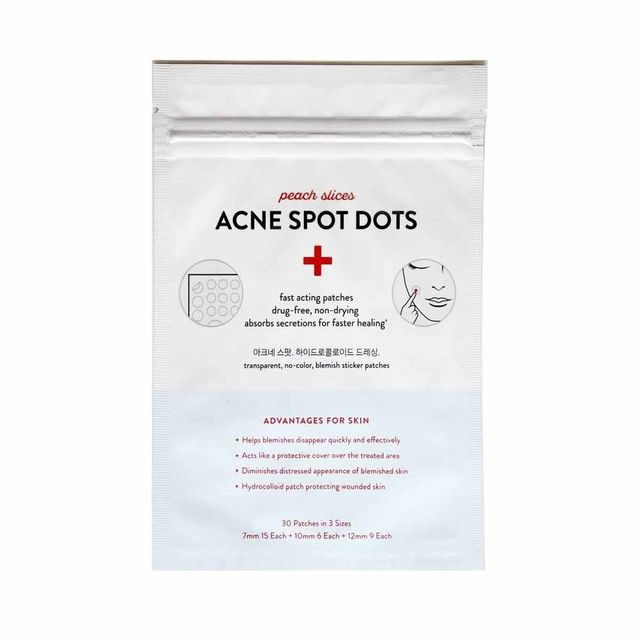 Peach Slices Acne Spot Dots