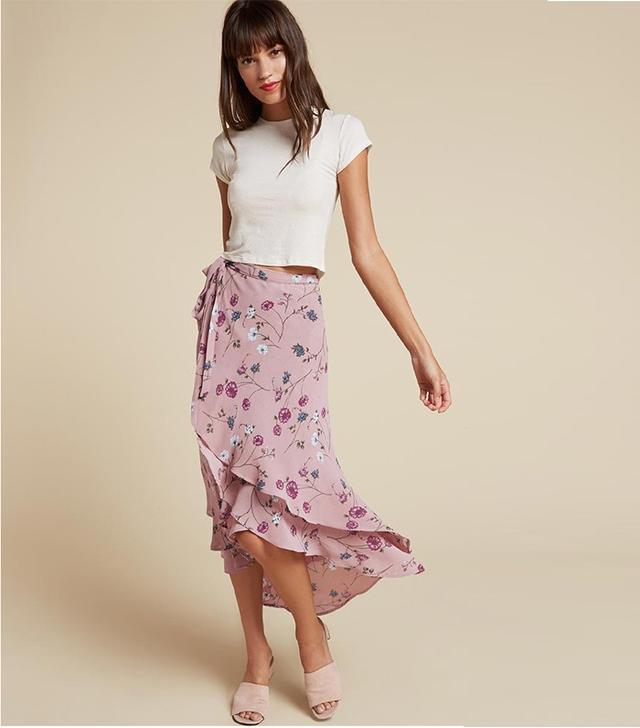 Reformation Saddie Skirt