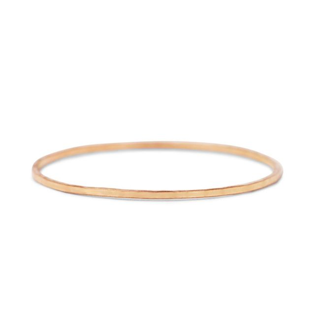 Catbird Jewelry Threadbare Ring in Rose Gold