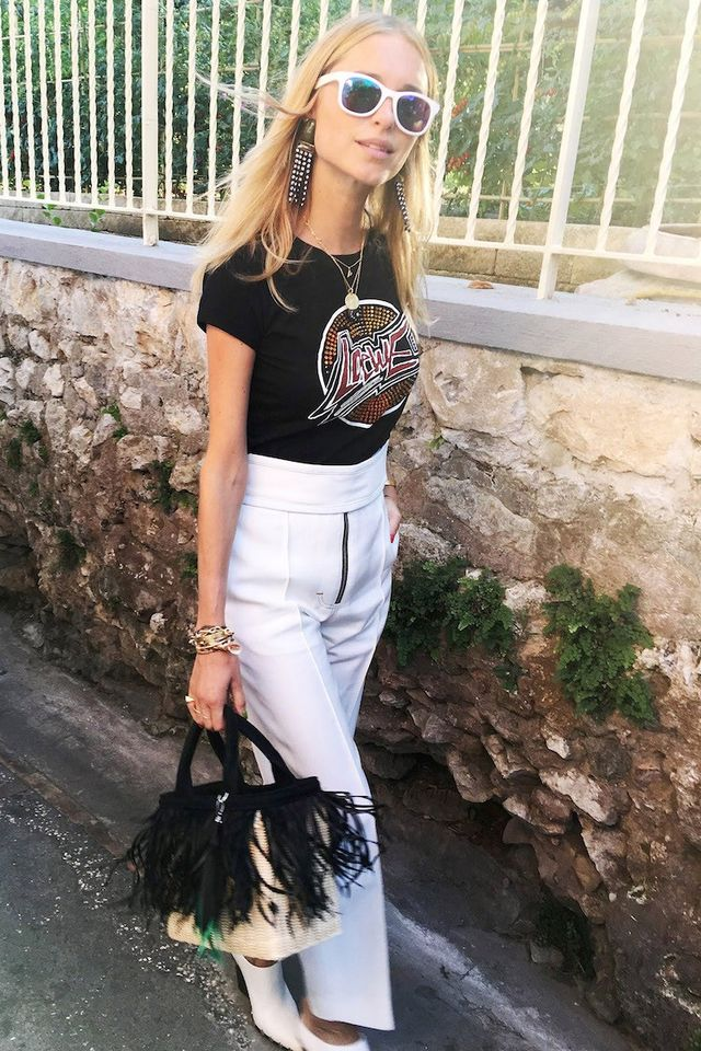 See How Pernille Teisbaek Styles a Vintage-Style Band Tee